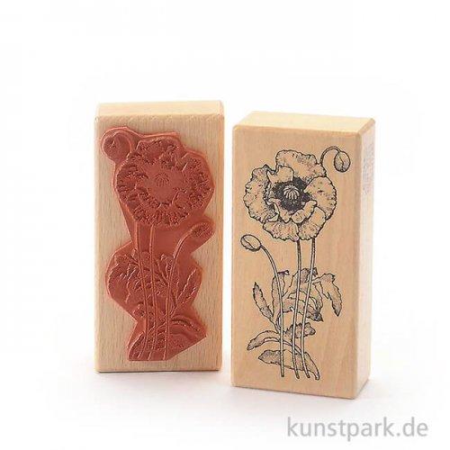 Stempel - Klatschmohn - 5x10 cm