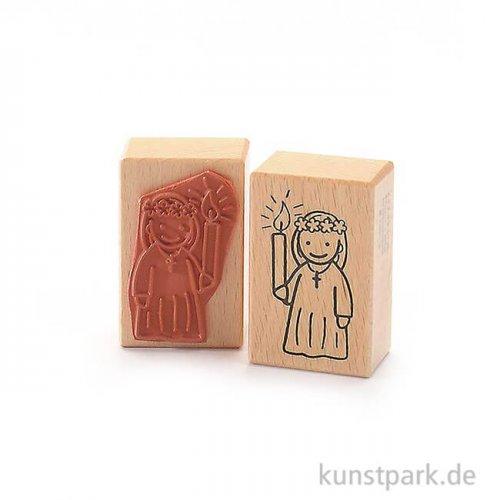 Stempel - Kommunion/Konfirmation Mädchen - 4x6 cm