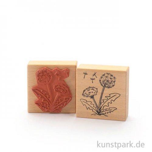 Stempel - Löwenzahn und Pusteblume - 7x7 cm