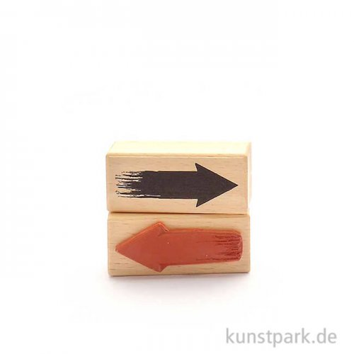 Stempel - Pfeil, 3x7 cm