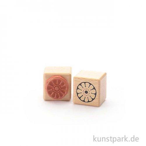 Stempel - Runde Blüte - 3x3 cm