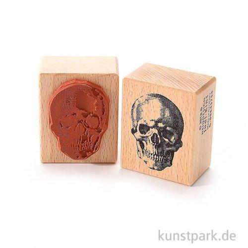 Stempel - Schädel, 4 x 5 cm