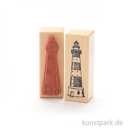 Stempel - Silvia Leuchtturm - 3x8 cm