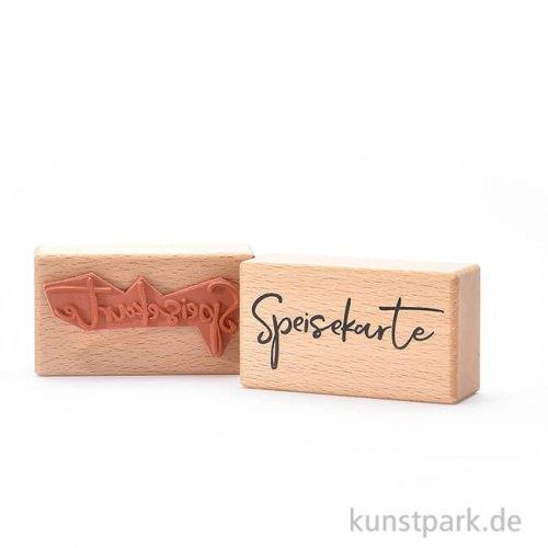 Stempel - Speisekarte, 4x7 cm
