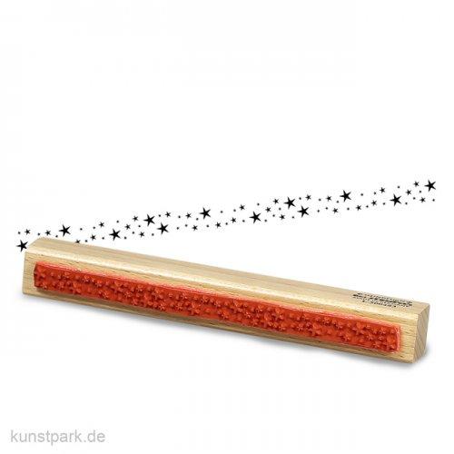 Stempel - Sternen Bordüre - 2x16 cm