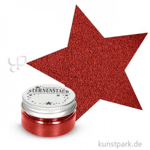 Stempel Sternenstaub Embossing Pulver 14 ml   Krapprot