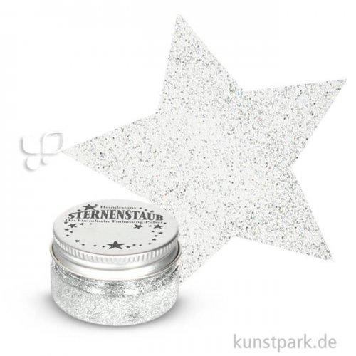 Stempel Sternenstaub Embossing Pulver 14 ml | Weiße Diamanten