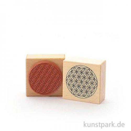 Stempel - Zirkelblume - 6x6 cm