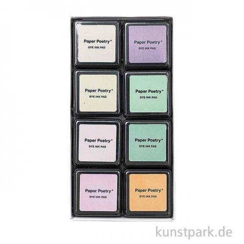Stempelkissen - Pastelltöne Set