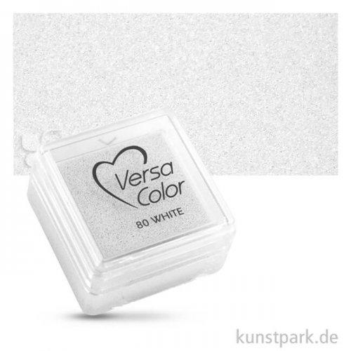 Stempelkissen Versacolor 2,5 x 2,5 cm | Weiß