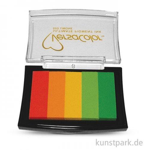 Stempelkissen Versacolor - Limone, 5 Farben sortiert