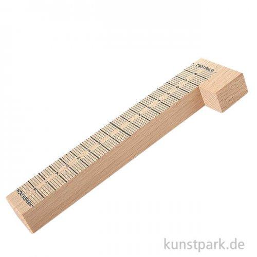 Stempelwinkel aus Holz mit 20 cm Länge