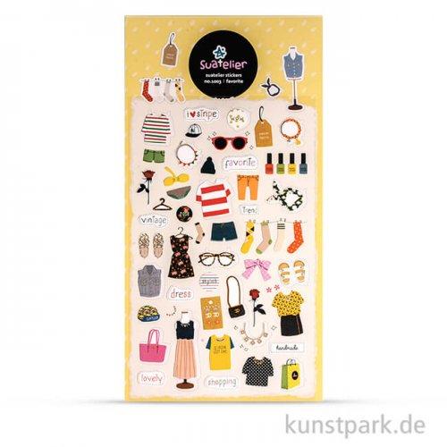 Sticker - Favorite, 15x9,2 cm