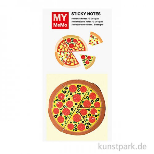 Sticky Notes - Pizza
