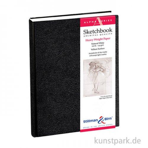 Stillman & Birn Skizzenbuch ALPHA, 62 Blatt, 150 g 14,0 x 21,6 cm