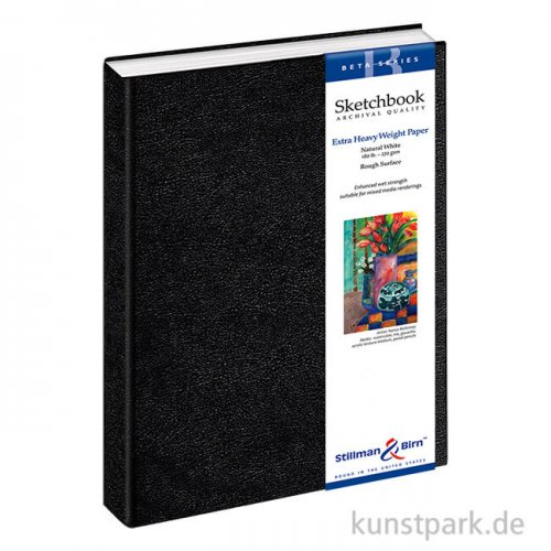 Stillman & Birn Skizzenbuch BETA, 26 Blatt, 270 g