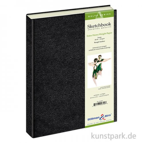 Stillman & Birn Skizzenbuch DELTA, 26 Blatt, 270 g 21,0 x 29,7 cm