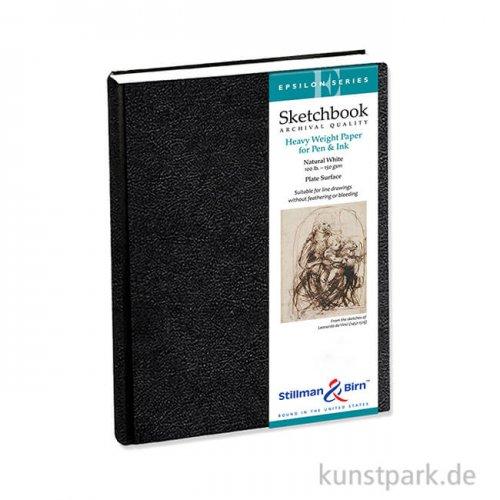 Stillman & Birn Skizzenbuch EPSILON, 62 Blatt, 150 g 14,0 x 21,6 cm