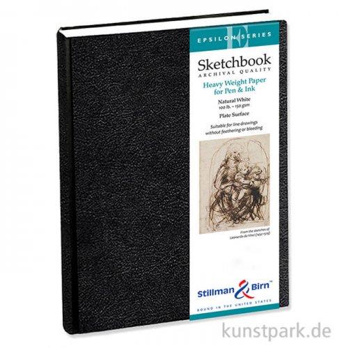 Stillman & Birn Skizzenbuch EPSILON, 62 Blatt, 150 g 21,0 x 29,7 cm