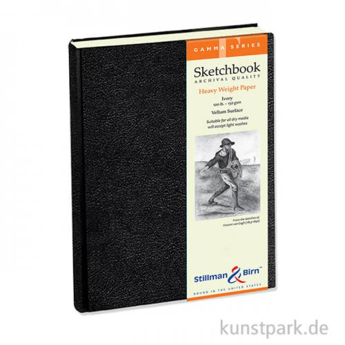Stillman & Birn Skizzenbuch GAMMA, 62 Blatt, 150 g 14,0 x 21,6 cm