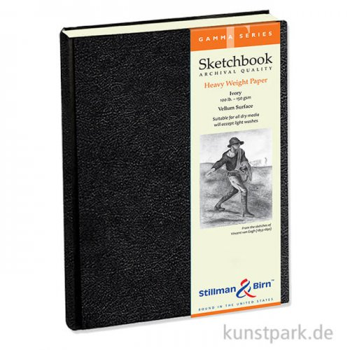 Stillman & Birn Skizzenbuch GAMMA, 62 Blatt, 150 g