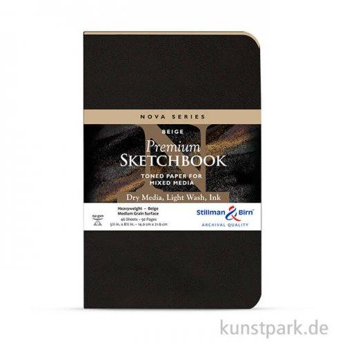 Stillman & Birn Skizzenbuch Softcover Nova Beige, 48 Blatt, 150g
