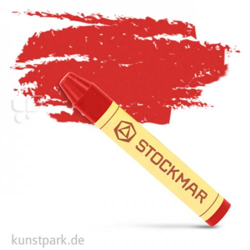 Stockmar Wachsmalstifte einzeln Einzelfarbe | Zinnoberrot