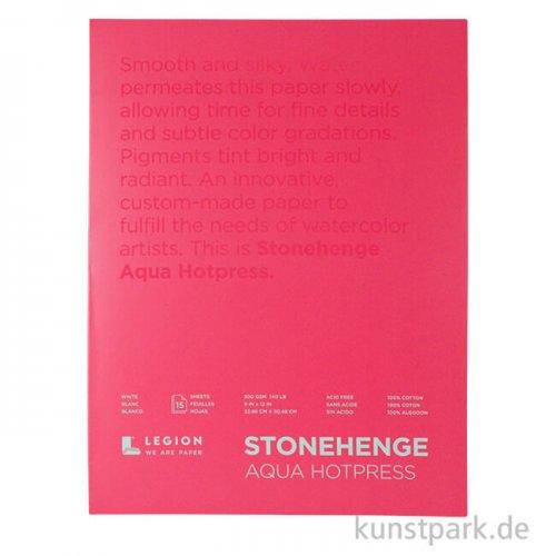 Stonehenge Aqua Smooth, Aquarellblock 300g