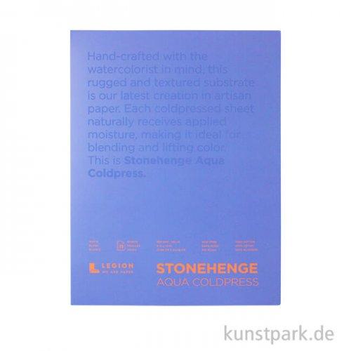 Stonehenge Aqua Textured, Aquarellblock 300g 22 x 30 cm