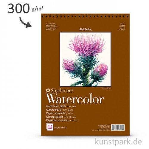 Strathmore Artist Paper 400 - Aquarellpapier, 12 Blatt, 300g
