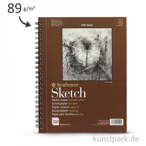 Strathmore Artist Paper 400 - Skizzenpapier, 100 Blatt, 89g