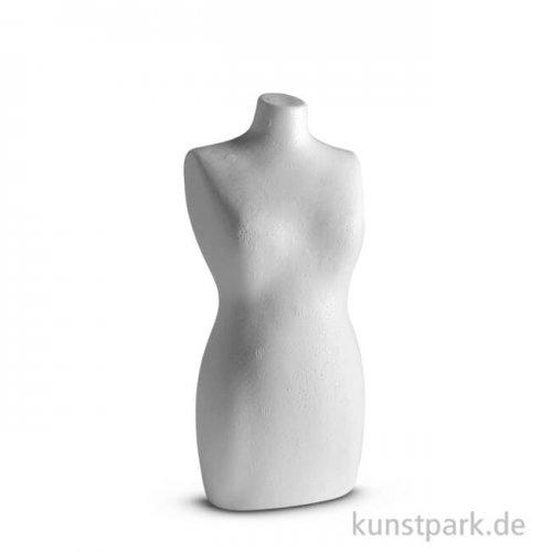 Styropor-Torso Frau 25 cm