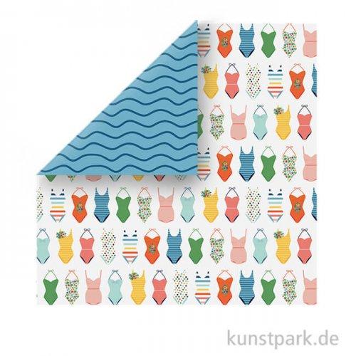 Summertime Scrappapier - Swimsuits
