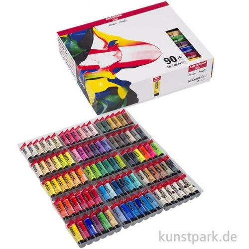 Talens AMSTERDAM Acrylfarben Set mit 90 x 20 ml