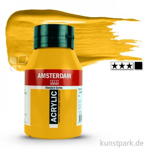 Talens AMSTERDAM Acrylfarben 1 Liter Flasche   227 Gelber Ocker