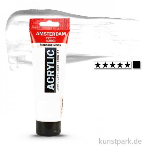 Talens AMSTERDAM Acrylfarben 120 ml Tube   105 Titanweiß