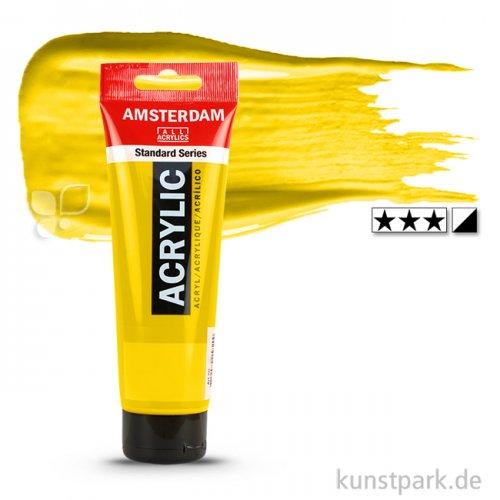 Talens AMSTERDAM Acrylfarben 120 ml Tube | 268 Azogelb hell