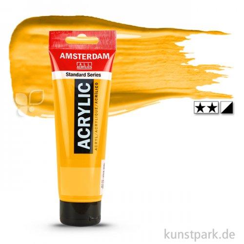 Talens AMSTERDAM Acrylfarben 120 ml Tube | 270 Azogelb dunkel