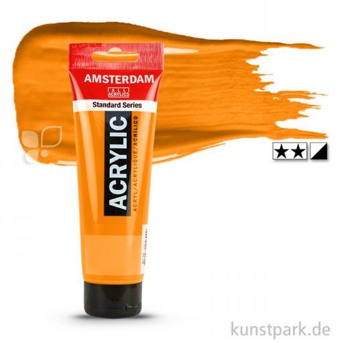 Talens AMSTERDAM Acrylfarben 120 ml Tube | 276 Azo-Orange