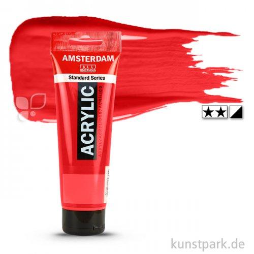 Talens AMSTERDAM Acrylfarben 120 ml Tube | 396 Naphtholrot mittel