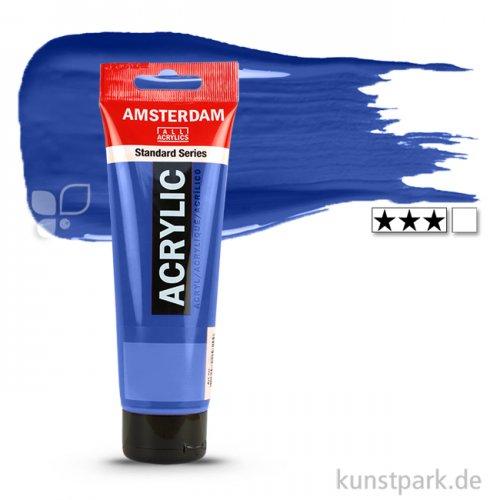 Talens AMSTERDAM Acrylfarben 120 ml Tube | 504 Ultramarin