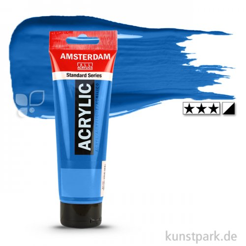 Talens AMSTERDAM Acrylfarben 120 ml Tube | 512 Kobaltblau (ultramarin)