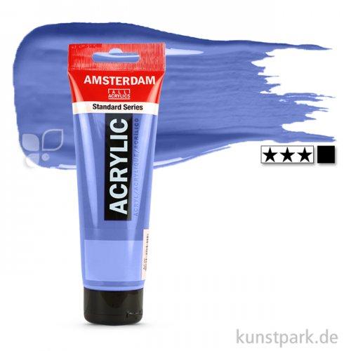 Talens AMSTERDAM Acrylfarben 120 ml Tube | 519 Ultramarinviolett hell