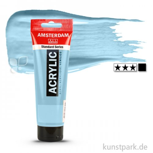 Talens AMSTERDAM Acrylfarben 120 ml Tube   551 Himmelblau hell