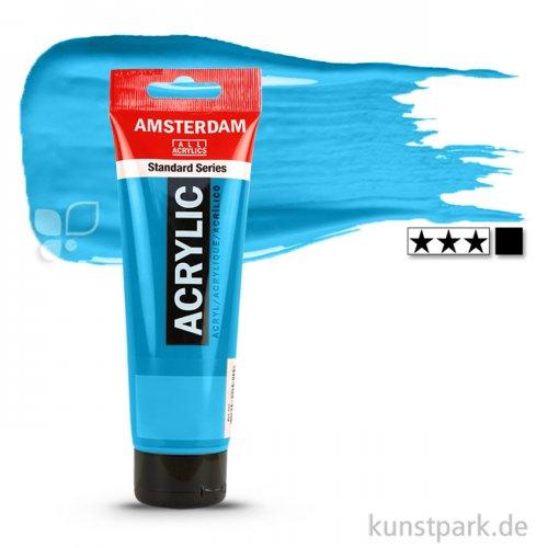 Talens AMSTERDAM Acrylfarben 120 ml Tube | 564 Brillantblau