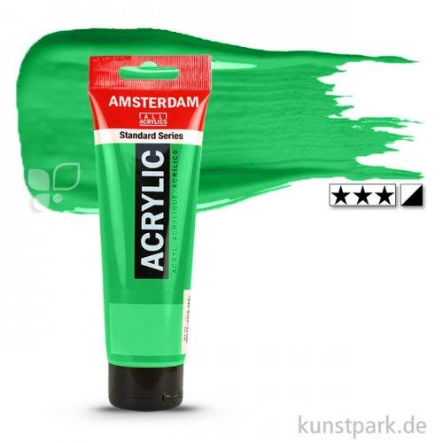 Talens AMSTERDAM Acrylfarben 120 ml Tube | 605 Brillantgrün
