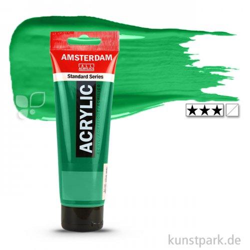 Talens AMSTERDAM Acrylfarben 120 ml Tube | 619 Permanentgrün dunkel