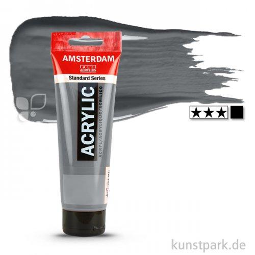 Talens AMSTERDAM Acrylfarben 120 ml Tube | 710 Neutralgrau