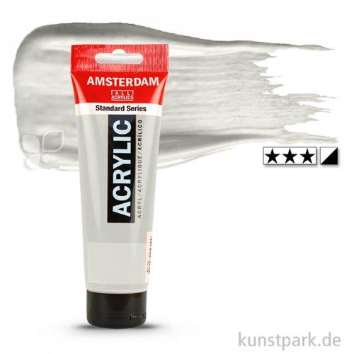 Talens AMSTERDAM Acrylfarben 120 ml Tube   800 Silber
