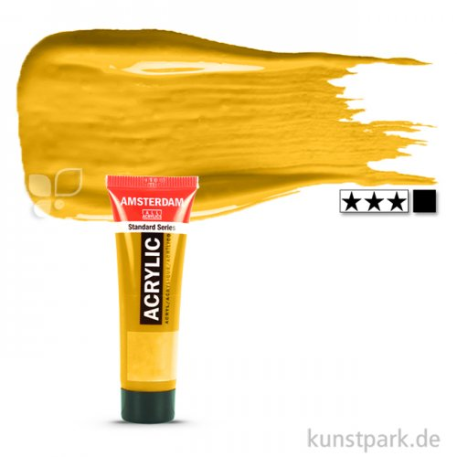 Talens AMSTERDAM Acrylfarben 20 ml Tube   227 Gelber Ocker